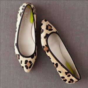 Boden Shoes - BODEN ANIMAL PRINT Ballet Pointed Toe Flats 38